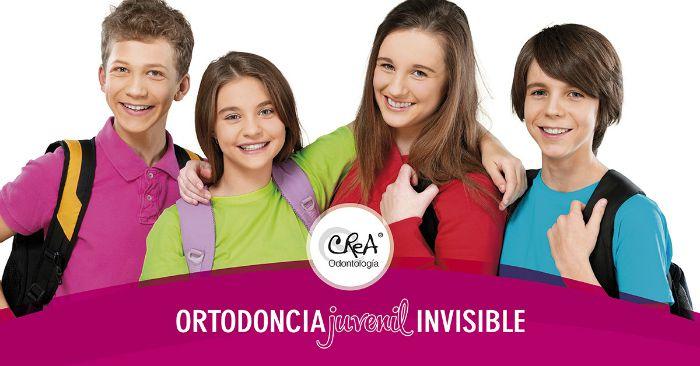 ortodoncia invisible adolescentes Valdemoro