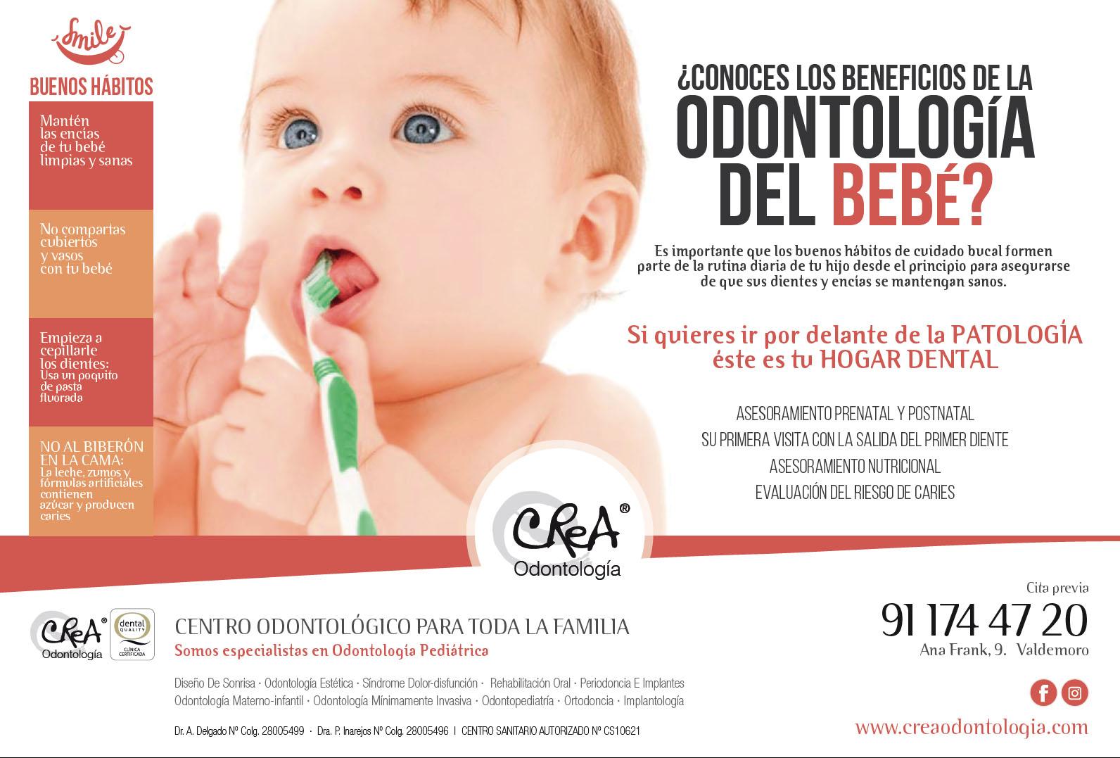 beneficios de la odontologia del bebe